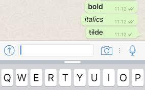 Use Bold, Italics, and Strikethrough Text