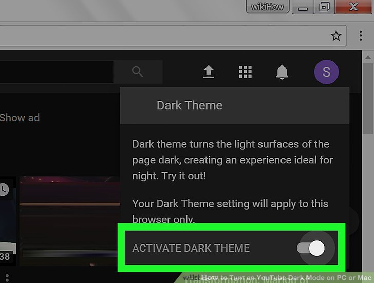 Unlock 'Dark Theme' On PC/Mac/Linux