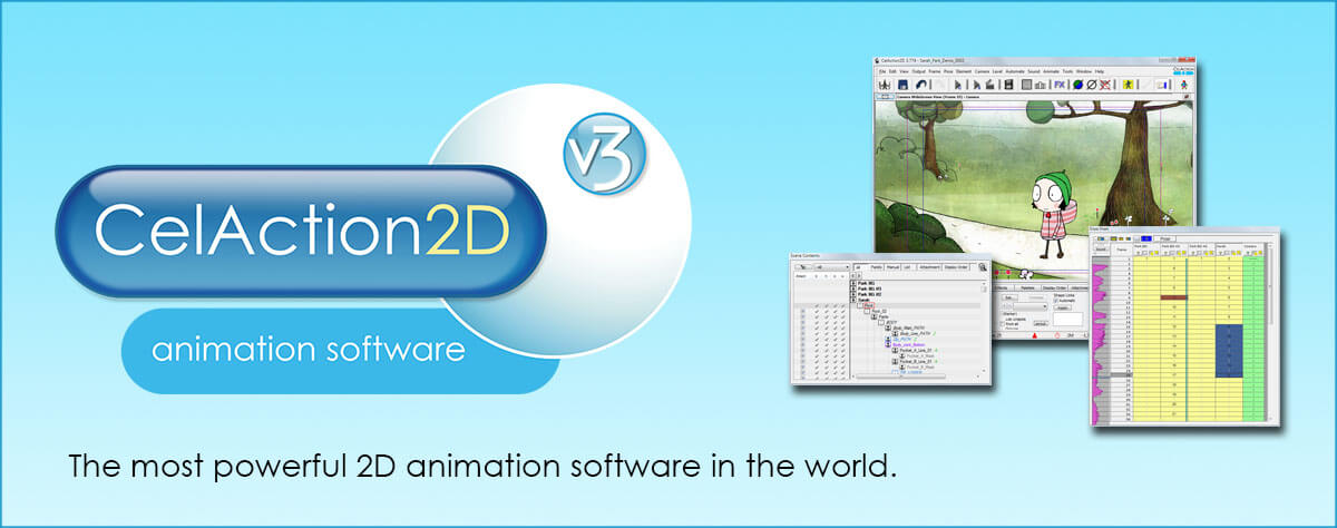 CelAction 2D animation software